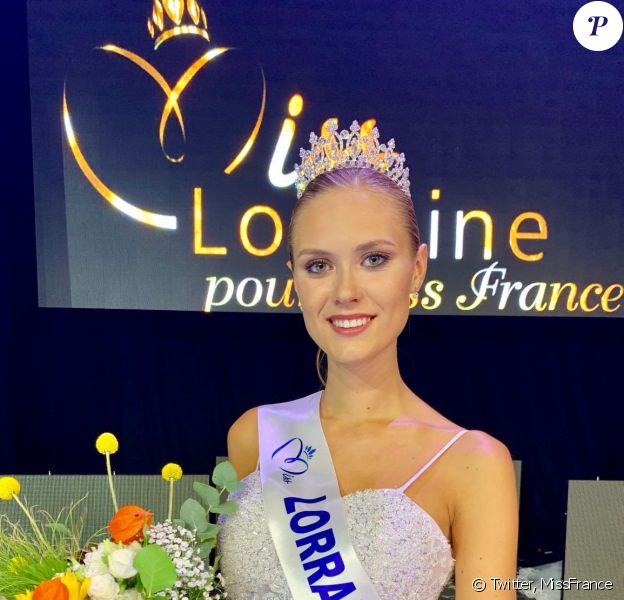 Ilona Robelin, Miss Lorraine 2019, se présentera à l'élection de Miss France 2020, le 14 décembre 2019.