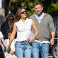 Exclusif - Jennifer Garner, Ben Affleck et leurs enfants Samuel Affleck, Seraphina Rose Affleck à Los Angeles, le 4 octobre 2019.