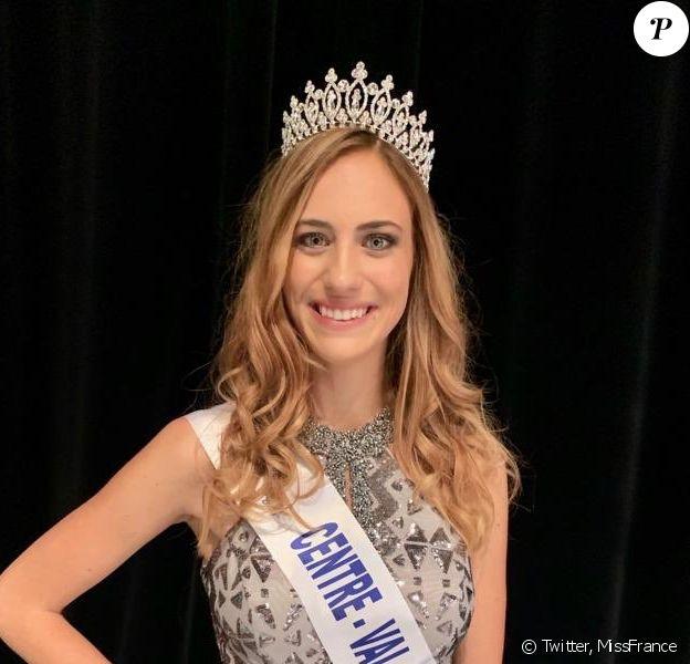 Jade Simon-Abadie, Miss Centre-Val de Loire 2019, se présentera à l'élection de Miss France 2020, le 14 décembre 2019.