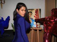 Ayem Nour : Divine en robe bleue avec Denitsa Ikonomova (DALS)