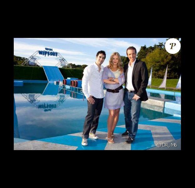 Sandrine Corman, Stéphane Rotenberg et Alex Goude présentent Total Wipeout