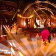 """Elsa Esnoult et Anthony Colette sur un flammenco dans """"Danse avec les stars 2019"""", sur TF1, le 2 novembre"""