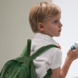 Jacques et Gabriella de Monaco, 4 ans, ont fait leur rentrée scolaire le 10 septembre 2019.