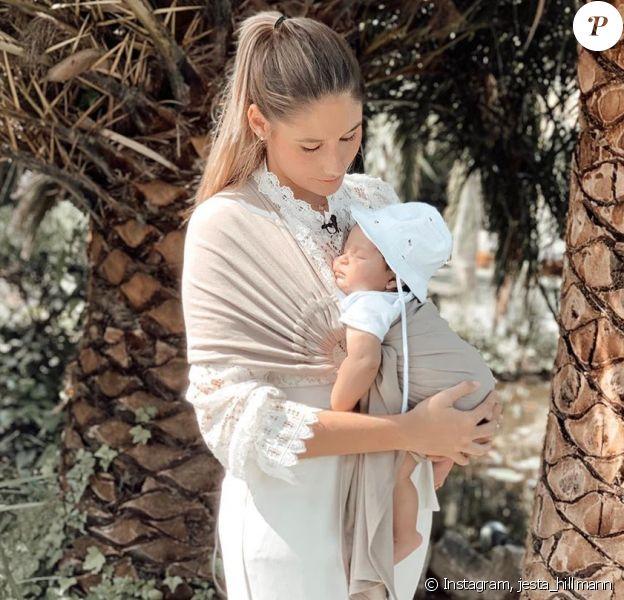 "Jesta de ""Koh-Lanta"", tendre moment avec son fils Juliann - photo Instagram du 2 novembre 2019"
