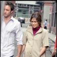 Jennifer lopez en plein tournage du film  The Backup Plan , le 17 juillet 2009