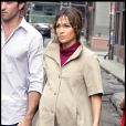 """Jennifer lopez en plein tournage du film  The Backup Plan , le 17 juillet 2009"""