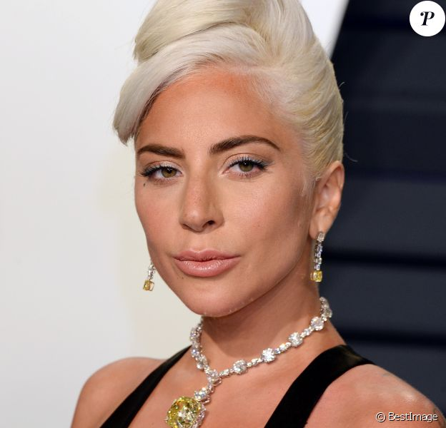 Lady Gaga - Soirée Vanity Fair Oscar Party à Los Angeles. Le 24 février 2019.