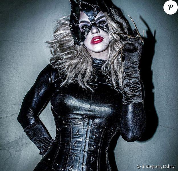 Estanislao Fernandez dans son rôle de drag queen Dyhzy, sur Instagram, novembre 2019.