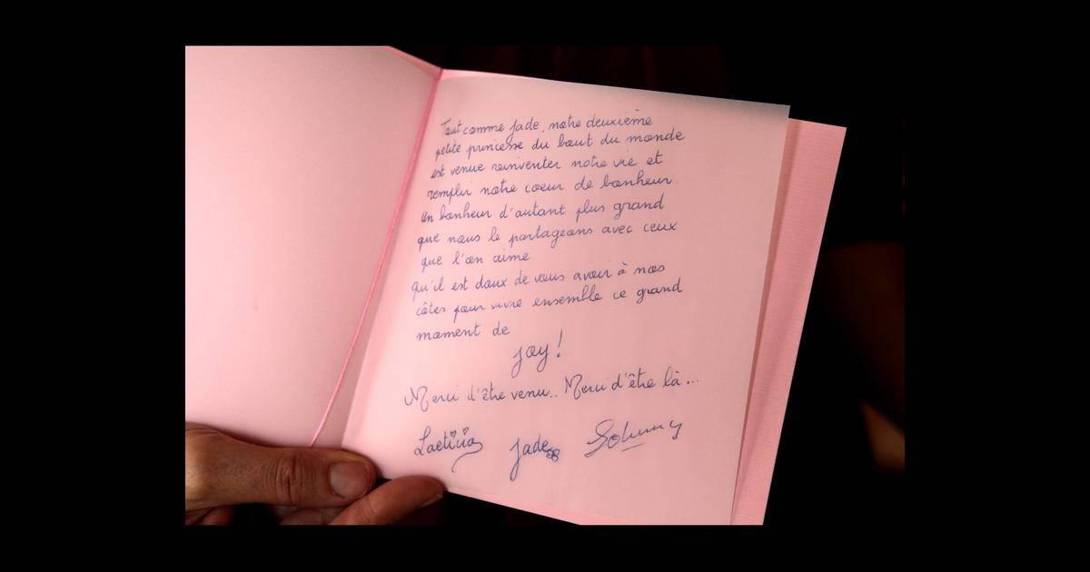 Le Message De Remerciements De Johnny Et Laeticia Hallyday