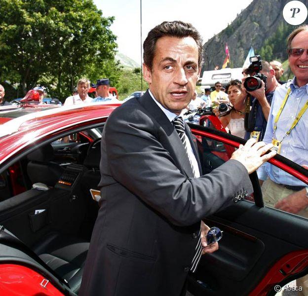 Nicolas Sarkozy sera présent sur une étape des Alpes du Tour de France