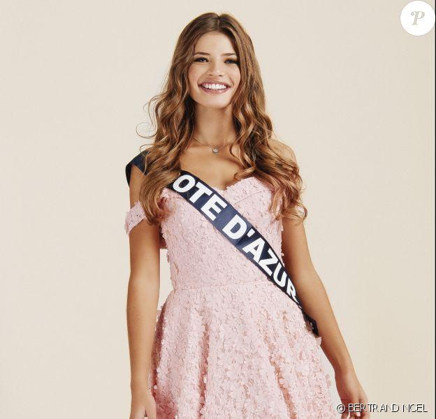 Miss Côte d'Azur : Manelle Souahlia, 18 ans, 1,72 m, actuellement en deuxième année d'école de commerce.