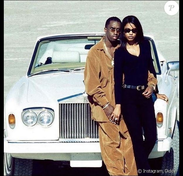 Diddy et son ex-compagne Kim Porter.