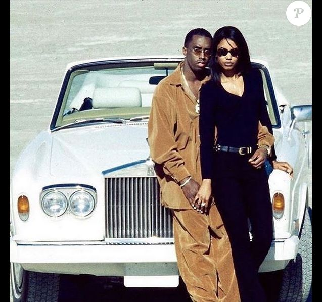 Diddy et son ex-compagne Kim Porter.