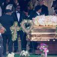 Exclusif - Diddy assiste aux obsèques de son ex compagne et mère de ses enfants Kim Porter à Columbus le 24 novembre 2018.