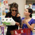 Exclusif - Sarah Palin fait des courses avec sa fille Willow a Studio City le 7 octobre 2012