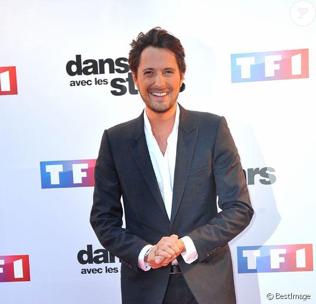 """Vincent Cerutti - Photocall de présentation de la nouvelle saison de """"Danse avec les Stars 5"""" au pied de la tour TF1 à Paris, le 10 septembre 2014."""