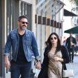 Exclusif - Jenna Dewan, enceinte et son compagnon Steve Kazee ont été aperçus dans les rues de Studio City, le 29 octobre 2019.