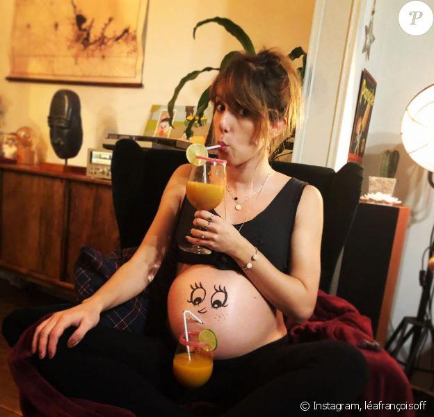 Léa François dévoilé le sexe de son bébé sur Instagram, le 20 novembre 2019