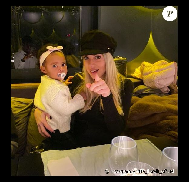 Emilie Fiorelli et sa fille Louna sur Instagram