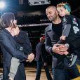 Tony Parker est entré au panthéon de San Antonio Spurs, aux Etats-Unis, le 11 novembre 2019. L'ancien basketteru français était accompagné de son épouse Axelle Francine et de leurs deux fils Liam et Josh.