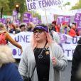 Marilou Berry participe à la marche contre les violences sexistes et sexuelles (marche organisée par le collectif NousToutes), partie de Place de l'Opéra jusqu'à la Place de la Nation. Paris, le 23 Novembre 2019 © Cyril Moreau / Bestimage