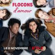 """Affiche de """"Flocons d'amour"""""""