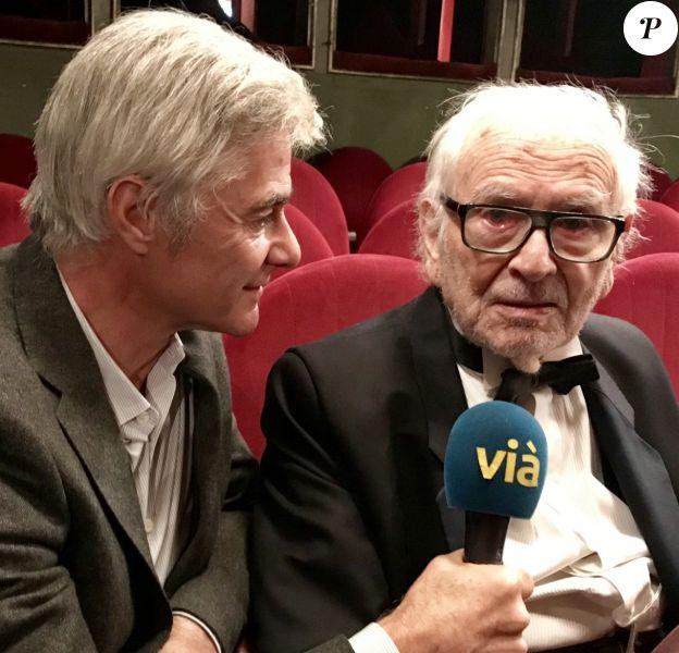 Cyril Viguier rencontre Pierre Cardin dans le Grand JT des Territoires