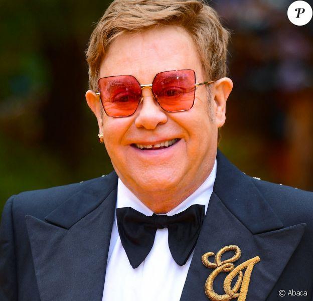 Elton John - Portrait. Londres. Le 14 juillet 2019. @Ian West/PA Wire