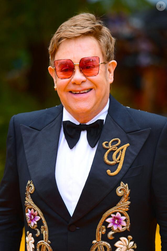 Elton John - Portrait. Londres. Le 14 juillet 2019. @ Ian West/PA Wire
