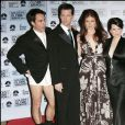 Eric McCormack, Sean Hayes, Debra Messing et Megan Mullally - 63e Cérémonie des Golden Globe Awards. Los Angeles. Le 16 janvier 2006.