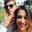 Léonard Trierweiler et son épouse Jenny sur Instagram. Le fils de l'ancienne première dame s'est marié à sa compagne de longue date le samedi 30 novembre 2019, à New York.