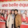 """Semi-exclusif - Mélissa Theuriau et son mari Jamel Debbouze - Avant-première du film """"Une belle équipe"""" à Paris le 3 décembre 2019. © Jack Tribeca/Bestimage"""