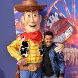 """Jamel Debbouze - Personnalités à la projection du film """"Toy Story 4"""" à Eurodisney Paris. Le 22 juin 2019 © Veeren Ramsamy-Christophe Clovis / Bestimage"""