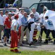 L'accident de Felipe Massa le 25 juillet