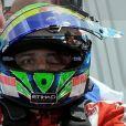 Felipe Massa sorti de sa voiture juste après son accident du 25 juillet...