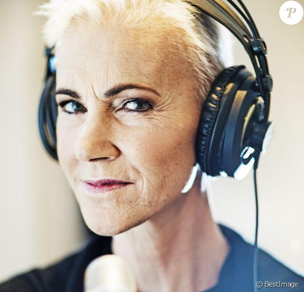 Archives - Exclusif - Marie Fredriksson pose dans un studio à Djursholm, le 25 novembre 2013.