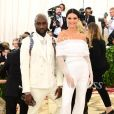 Virgil Abloh et Kendall Jenner au Met Gala 2018 à New York. Le 7 mai 2018.