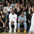 Kanye West et Virgil Abloh à New York. Septembre 2013.