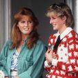 Diana et Sarah Ferguson en 1983 à Windsor.