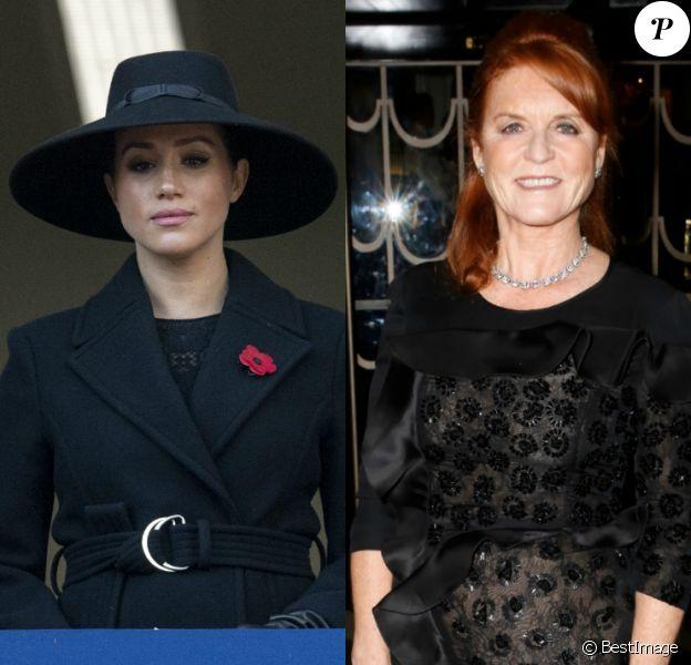 """Dans une interview pour """"Vogue Arabia"""", le 11 décembre 2019, Sarah Ferguson apporte son soutien à Meghan Markle, harcelée par la presse anglaise."""
