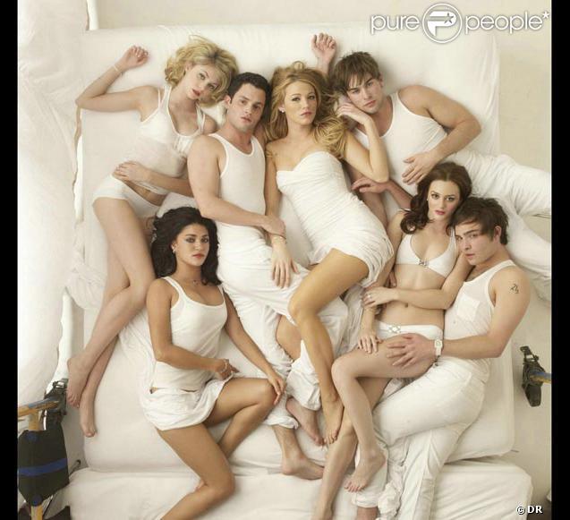 Photo promo pour tout le casting de  Gossip Girl  !
