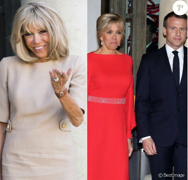 Brigitte Macron au comble de l'élégance : ses looks les plus chics de 2019