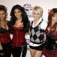 "Melody Thornton, Nicole Scherzinger, Kimberly Wyatt et Jessica Sutta arrivent au ""Jingle Bell Ball"" à l'O2 Arena. Londres. Le 10 décembre 2008. @Yui Mok/PA Wire"