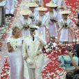 Mariage du prince Albert et Charlene Wittstock à Monaco, le 2 juillet 2011.