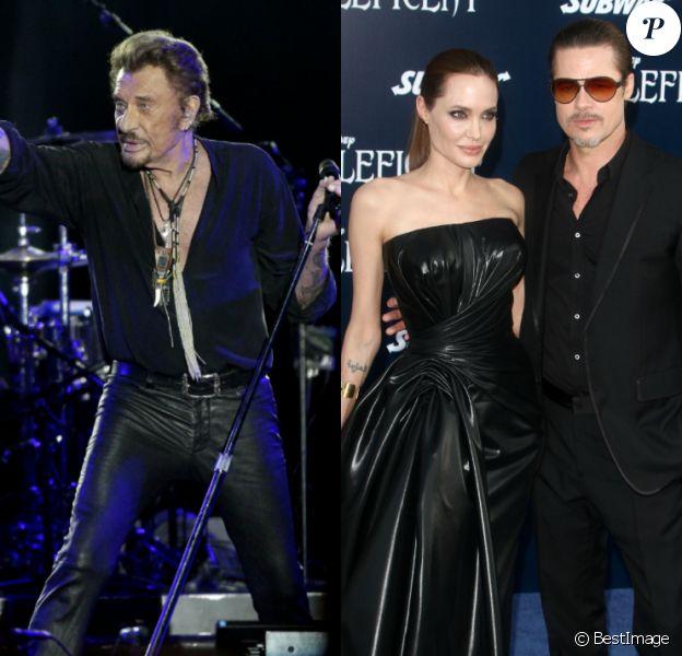 De la mort de Johnny Hallyday au divorce choc de Brad Pitt et Angelina Jolie : retour sur dix temps forts people de la décennie, entre 2010 et 2019.