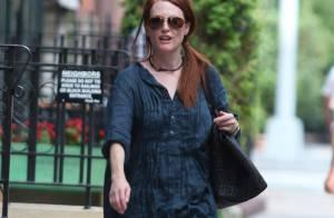 Pourquoi Julianne Moore est-elle sortie dans cette tenue ? Parce qu'elle peut tout se permettre...