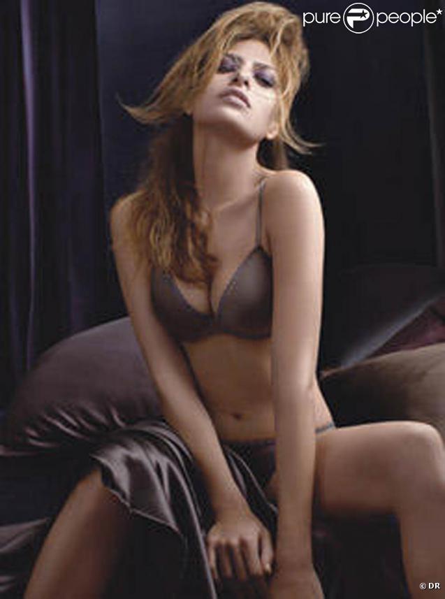 Eva Mendes pour Calvin Klein !