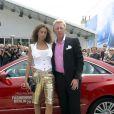 Boris Becker et sa femme le 4 juillet dernier...