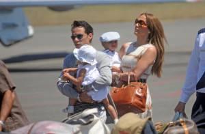 Jennifer Lopez et Marc Anthony : vacances avec leurs adorables Max et Emme, trop mignons ! Regardez !