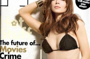 Eliza Dushku : surtout qu'elle ne change rien, à moitié nue, elle est... explosive !